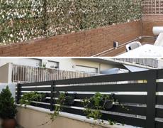 Las vallas y cancelas de aluminio son la solución ideal a su patio, jardín o terraza