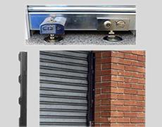 Dispositivo de seguridad para persiana enrollable para garajes y comercios