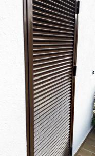 Puertas y persianas mallorquinas de aluminio lacado