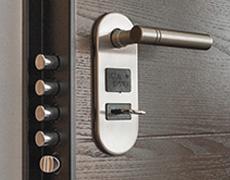 Las puertas blindadas de alta seguridad